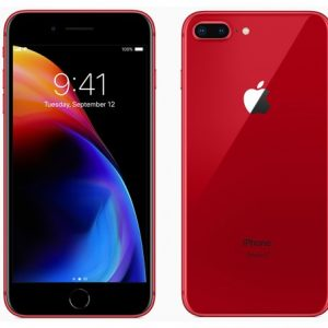 iphone 8+ red