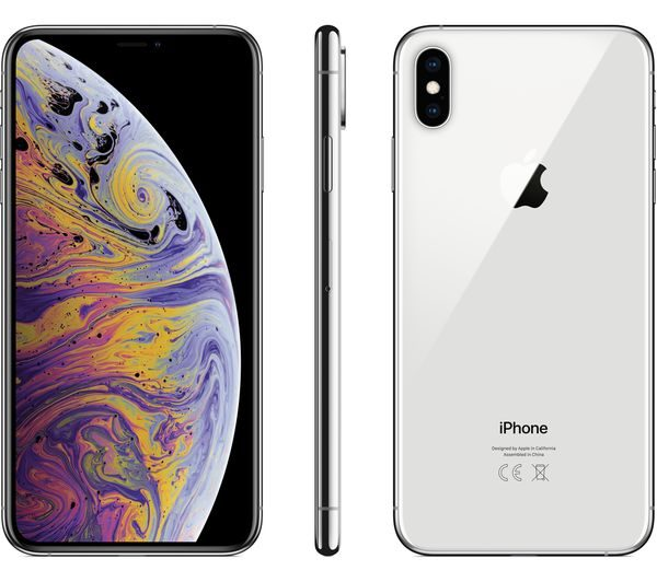 iphone xs max silver