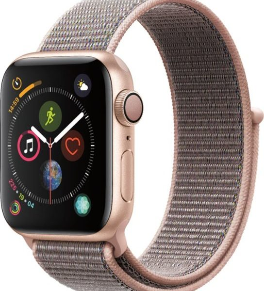 iwatch 4(40mm) gold-pink sand