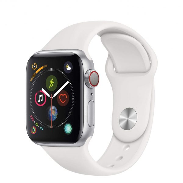 iwatch 4(40mm) silver with white
