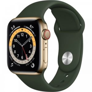 iwatch 6-40 gold stainless green
